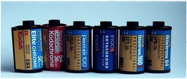 Kodak Color Reversal Films